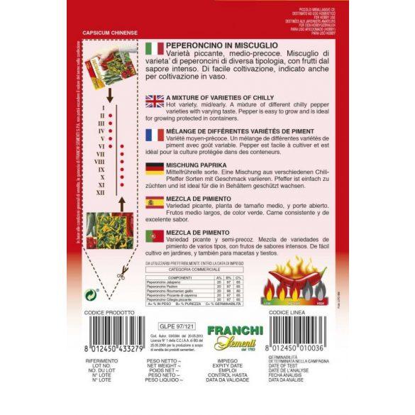 Chili paprika fajtakeverék